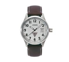 Watches, Leather, Accessories, Fashion, Silver, Crystals, Calendar, Moda, Wristwatches