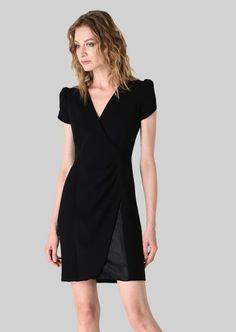 STRETCH WOOL PRINCESS DRESS: Dresses Women by Armani - 3