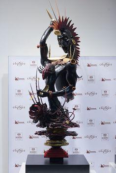 'Warrior' Frank Hasnoot, World Chocolate Master 2011