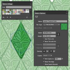 Illustrator How to Make a Pattern that Seamlessly Repeats