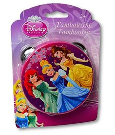 Disney Princess Tambourine - Small Size - Approx 4 inches in diameter What Kids Want http://www.amazon.com/dp/B00I3JXDRC/ref=cm_sw_r_pi_dp_UdcYvb1SXYP4V