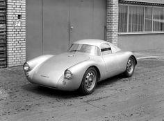 1953 Porsche 550 Coupe.