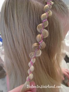 Rubber Band Wraps & Flipped Braids (6)