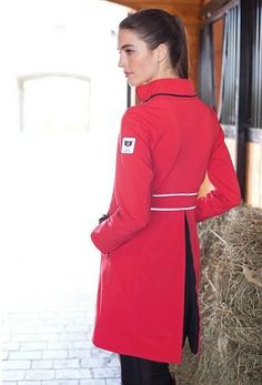 The All Weather Rider - The popular award winning coat that transforms to keep you and most saddles dry in all weather conditions. Front and back skirt unveil behind a hidden zipper gusset to fit over your saddle. $360.00 http://store.premierequestrian.com/The-All-Weather-Rider-_p_1130.html