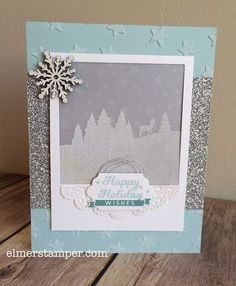 Wow!  This card is gorgeous. It features the To You & Yours Too stamp set by #stampinup created by Kristin Kortonick