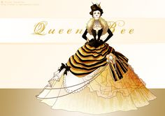 Queen Bee by Neko-Vi on deviantART I love this.