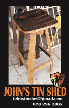 Custom easel chair Tin Shed, How To Remove Rust, Plasma Cutting, Stool, Chair, Easel, Repurposed, Restoration, Great Gifts