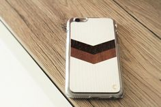 iPhone 6/6s Case Wings Mosaic - Handmade in Europe - FREE Shipping - iPhone 6/6s Wooden Case with transparent plastic sides - pinned by pin4etsy.com