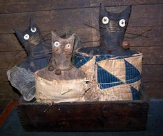 PatternMart.com ::. PatternMart: catnap sale ~ cheese box cats