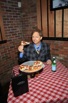 Mac King's Magic Pizza – As part of the book drive held throughout August with Grimaldi's Pizzeria, Comedy-Magician Mac King created his own signature pizza, Mac King's Magic Pizza featuring Anchovies and Kalamata Olives.