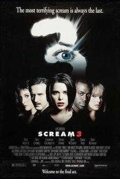 Scream 3 (2000) movie #poster, #tshirt, #mousepad, #movieposters2