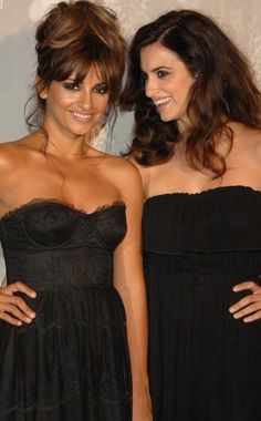 Penélope & Monica Cruz - what awesome genes!!