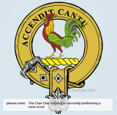 Cockburn Clan Crest: There are different opinions as to the origin of this surname.  One connects it to a placename near Duns in Berwickshire, another suggests that it is derived from the old Scots word 'gowk' meaning cuckoo
