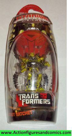 Transformers Titanium RATCHET movie 2007 MOC mip die cast 3 inch series