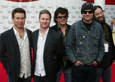 The band Tragically Hip arrives to the 2005 Juno Awards ceremony on April 2005 in Winnipeg, Canada. Tragically Hip Lyrics, April 3, Rock N Roll, Police, Awards, Catalog, Mens Sunglasses, Canada, Singer