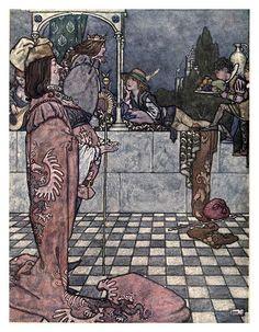012-La reina de las nieves-Hans Andersen's fairy tales (1913)- William Heath Robinson