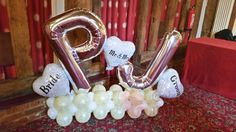 Wedding Balloons from www.rothwellballoons.co.uk Personalised Balloons, Balloon Pictures, Celebration Balloons, Wedding Balloons, Wakefield, The Balloon, Leeds, Romantic, Bride