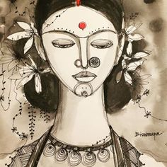 Indian Art Paintings, Journalling, Art Drawings, Princess Zelda, Photo And Video, Videos, Photos, Fictional Characters, Instagram