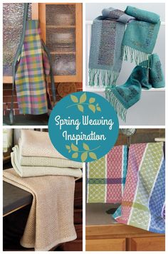 Springtime is perfect for new beginnings! Click here for your spring weaving inspiration, including a peek at Handwoven's new Spring Weaving Pattern Pack!