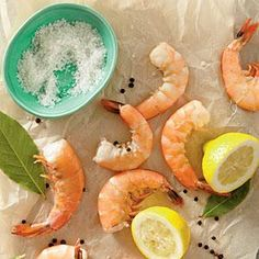 Perfect Poached Shrimp yield a moist, tender-crisp shellfish with loads of flavor.