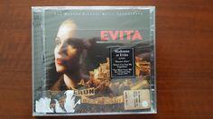 Madonna Evita 2xCD Germany 9362-46346-2 SEALED Rebel Heart Tour