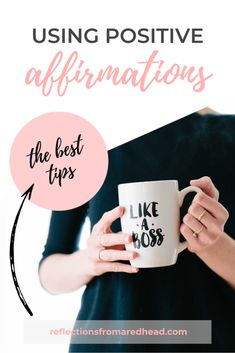 Using Positive Affirmations Like a Boss - the BEST Tips! What Would You Rather, I Can Do Anything, How To Look Better, Learning To Love Yourself, Be Kind To Yourself, Improve Yourself, Negative Thinking, Negative Thoughts, I Believe In Me