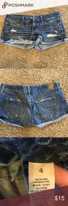 American eagle shorts Size four, in great condition. Bundle with another item in my closet and save 20%! American Eagle Outfitters Shorts