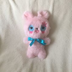 A personal favourite from my Etsy shop https://www.etsy.com/uk/listing/520521253/pink-teddy-bear-plushie-toy-ooak-doll