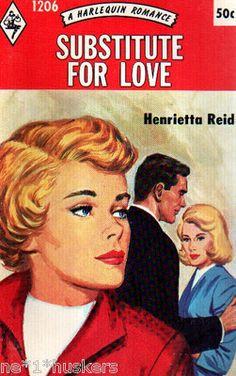 Reid Henrietta Substitute for Love Harlequin Romance 1206   eBay