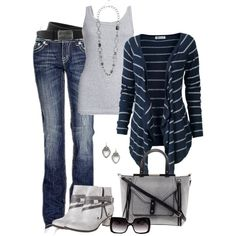 A fashion look from November 2013 featuring Fat Face cardigans, Splendid tops and miss-me jeans. Browse and shop related looks.