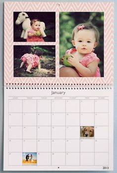 Custom Photo Calendar from My Publisher–Only $5.99 Shipped