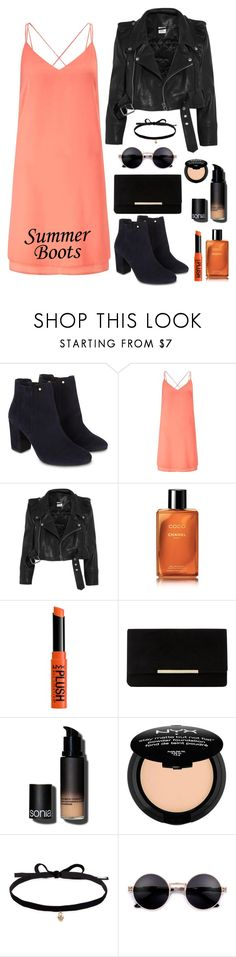 """#86"" by lenabitkina ❤ liked on Polyvore featuring Monsoon, Miss Selfridge, Vetements, Chanel, NYX, Dune, Sonia Kashuk and Joomi Lim"
