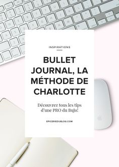 Today it is Charlotte de Invente your pen who speaks! Bullet Journal Décoration, Bullet Journal Printables, My Journal, Bullet Journal Organisation, Planner Organization, Bujo, Filofax, Weekly Log, Planners