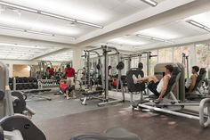 The gym at the BodyHoliday