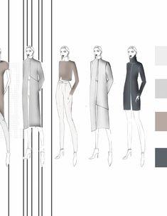 Fashion Sketchbook - fashion illustrations; fashion portfolio // Charlotte Deville