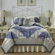 Shop for Nostalgia Home Olivia Cotton Quilt. Get free shipping at Overstock.com - Your Online Fashion Bedding Outlet Store! Get 5% in rewards with Club O!