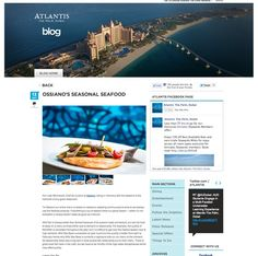 Our great food photography, shown here on the Atlantis Hotel, Palm Jumeirah, Dubai, blog.