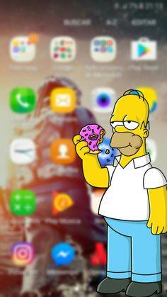 Oni Samurai, Nike Wallpaper Iphone, Futurama, Mickey Mouse, Rick And Morty, The Simpsons, Cute Wallpapers, Bart Simpson, Tatoos