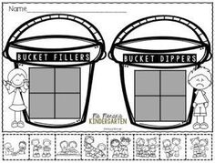 FREE How Full Is Your Bucket Sort. A great way beginning of the year sort to bring about discussion on how we can be a good friend.