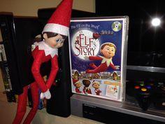 Elky brought Brayden a Movie!