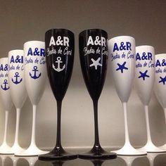 Bodas de Coral: A & R ⚓️⭐️  #bodasdecoral #muitoamor #35anosdecasados #tacapme #taça #taçapersonalizada #taca #casamento #chádepanela #chádelingerie