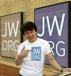 Good for him !.Jackie Chan