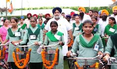 The happiness on the faces of girl students upon receiving their new cycles in Samrala and Raikot proved that Mai Bhago Vidya Scheme is one of the most effective initiatives in promoting education for the girl child. Punjab Govt plans to distribute more than 3 lakh bicycles to the girl students this year. #progressivepunjab   #akalidal   #sukhbirsinghbadal