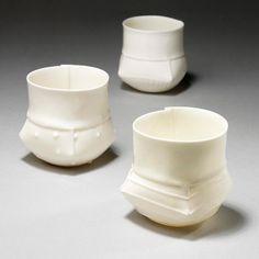 Ann Van Hoey - Ceramics - Porcelain Cups 6