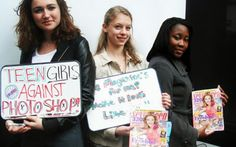 """Julia Bluhm, lead a successful petition for Seventeen magazine to feature photographs of real girls and healthy models. The magazine promised to """"never change girls' body or face shapes"""" when retouching images. 14 Year Old Girl, Seventeen Magazine, Vogue Magazine, Magazine Images, How To Look Skinnier, Altered Images, No Photoshop, Photoshop Images, Us Images"""