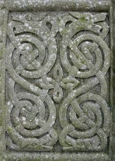 Celtic Cross Detail by ~Navanna by andrea