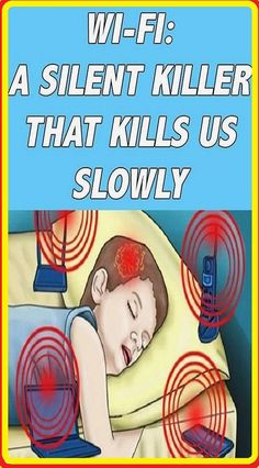 Do You Know How The Wi-Fi Enabled Devices In Your Home Are Slowly Poisoning You Healthy Tips, Healthy Habits, How To Stay Healthy, Healthy Weight, Healthy Snacks, Healthy Recipes, Insomnia Causes, Home Remedies For Acne, Motivation