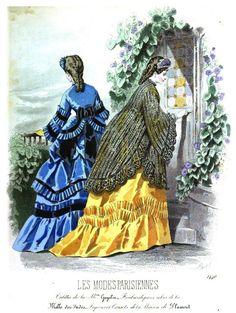 Les Modes Parisiennes 1871