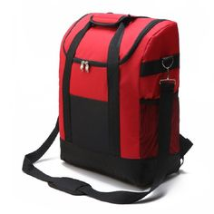 كبير ثخن للطي الطازجة حفظ ماء نايلون برودة حقيبة لل ستيك حقيبة العزل العزل الحراري الجليد حزمة الظهر