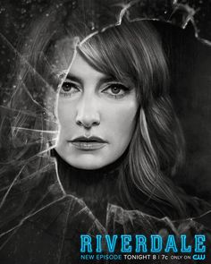 """Riverdale S2 Poster Madchen Amick as """"Alice Cooper"""""""